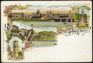 Bildpostkarte von Przemysl