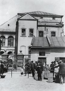 Außenansicht der Synagoge von Przemysl