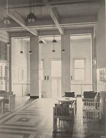 Die Halle des Sanatorium Purkersdorf