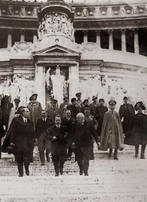 Bundeskanzler Dollfuß in Rom