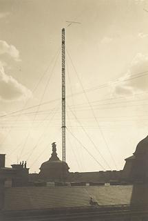 Ravag-Antennenanlage am Wiener Stubenring