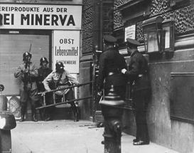Gescheiterter Überfall der Nazi-Putschisten (1)