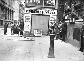 Überfall der Nazi-Putschisten auf die RAVAG Wien