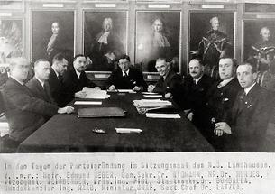Gründung der österreichischen Volkspartei