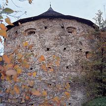 Rundturm der Stadtmauer in Radstadt