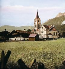 Die Evangelische Pfarrkirche in Ramsau