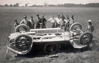 Autounfall bei Ranshofen