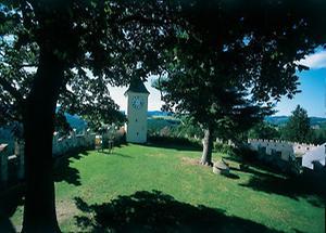 Garten von Burg Rappottenstein