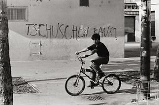 Kind auf dem Wiener Volkertmarkt