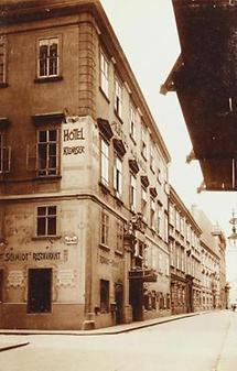 Hotel Klomser in der Herrengasse