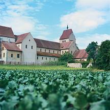 Benediktiner-Kloster auf der Bodensee-Insel Reichenau