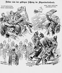 Sprachenstreit im österr. Reichsrat