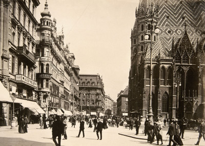 Stephansplatz in Wien, © IMAGNO/Austrian Archives