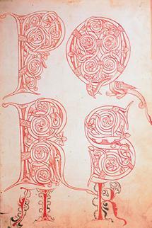Illustration aus dem Reiner Musterbuch: Initialen