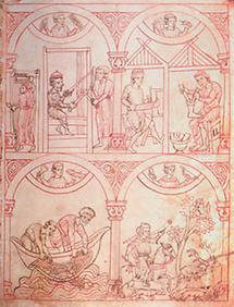 Illustration aus dem Reiner Musterbuch