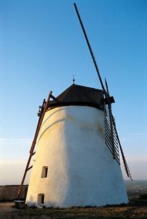 Windmühle westlich von Retz