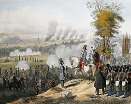 Die Bomabardierung von Wien 1848