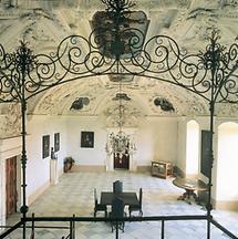 Der Weiße Saal auf der Riegersburg, Steiermark