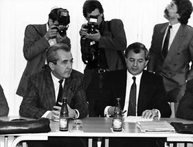 Alois Mock und Josef Riegler
