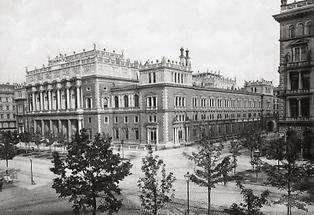 Börsengebäude in Wien I.