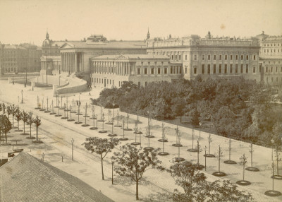 Parlament und Ringstrasse in Wien, © IMAGNO/Austrian Archives
