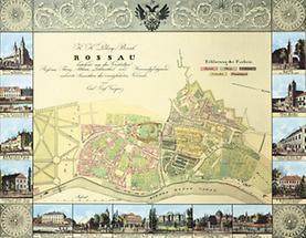 Landkarte von Teilen des 9. Wiener Bezirks