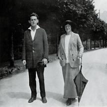 Egon Schiele und Wally Neuzil (1)