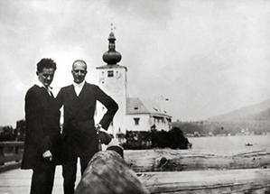 Egon Schiele und Arthur Roessler
