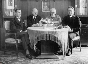 Mitglieder des Rosé-Quartetts