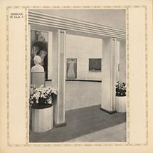 Internationale Kunstaustellung Rom 1911, Österreichischer Pavillon - Blick in den Klimt-Saal