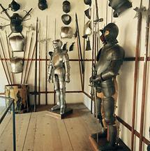 Waffenkammer in der Rosenburg, Niederösterreich