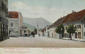 öffentlicher Platz in Rottenmann