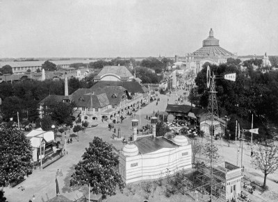 Prater mit Rotunde, © IMAGNO/Austrian Archives