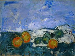 Stillleben mit Orangen und Zitronen