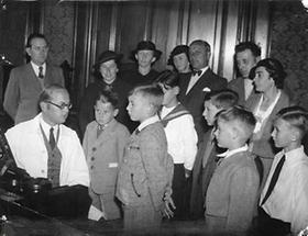 Aufnahmeprüfung bei den Wiener Sängerknaben