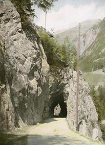 Straßentunnel vor Sölden