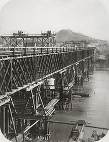 Eisenbahnbrücke der Südbahn