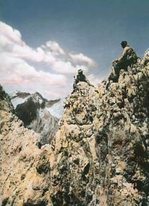 Am Grat Dolomiten