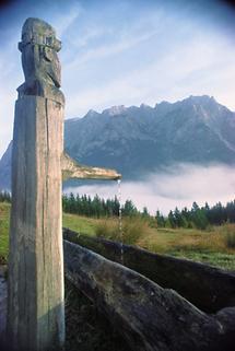 Der Untersberg im Salzburger Becken