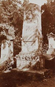 Grab von Moritz Gottlieb Saphir