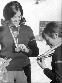 Olga Pall und Christl Haas