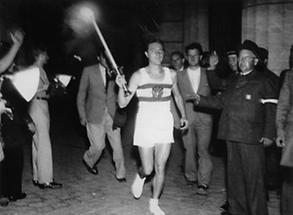 Olympia Fackel Staffellauf durch Österreich