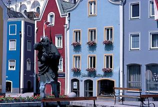 Gotische Bürgerhäuser in Schärding