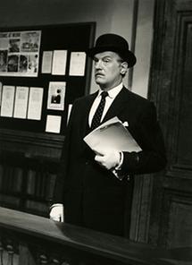 Der österreichische Schauspieler Karl Schönböck (2)