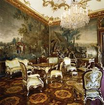 Das Napoleonzimmer im Schloß Schönbrunn