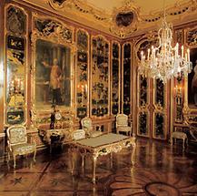 Das Vieux-Laque-Zimmer im Schloß Schönbrunn