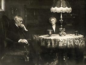 Karl Schönherr mit seiner Frau
