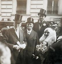 Otto Tressler und Hilde Wagener