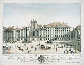 Wien: Platz Am Hof mit Palais Collalto