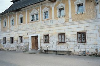 Das ehemalige Herrenhaus in Scharnstein